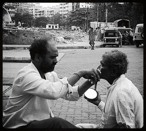 The Barbers Of Bandra Reclamation And The End Of The Money Order by firoze shakir photographerno1