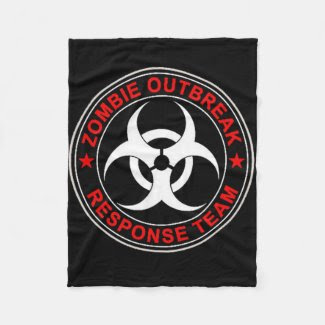 TWD Zombie Response Team Bio Hazard HOT Seller Fleece Blanket
