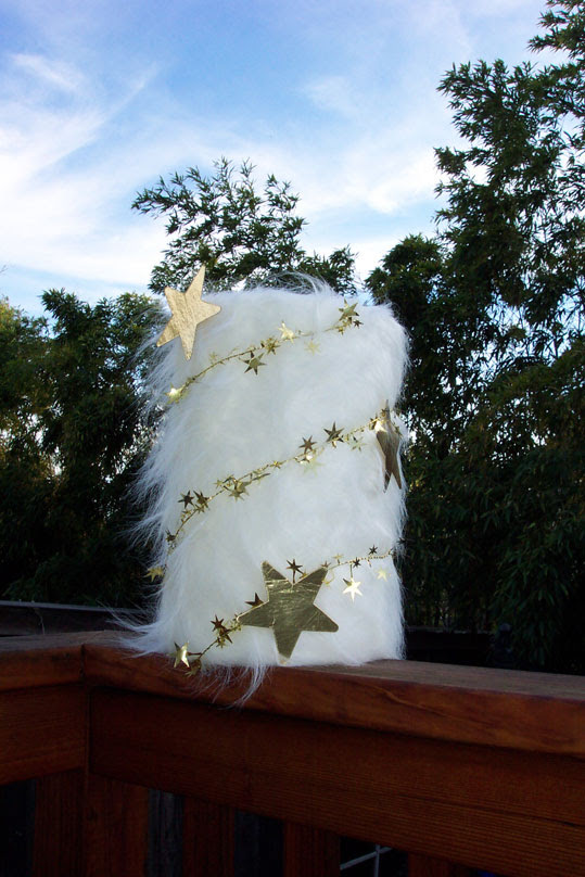 Furry hat/crown for a costume party