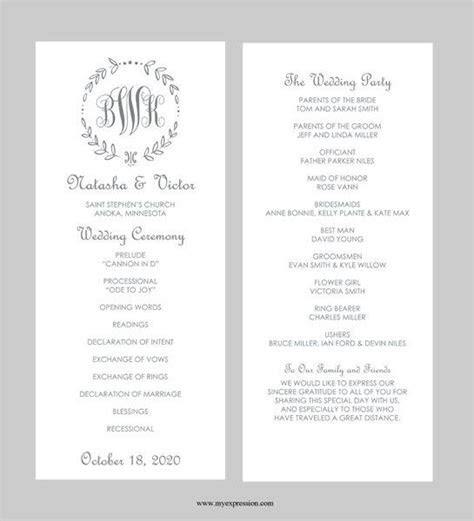 85 best images about Wedding Programs on Pinterest
