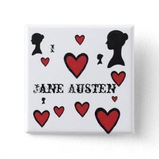 I love Jane Austen Buttons