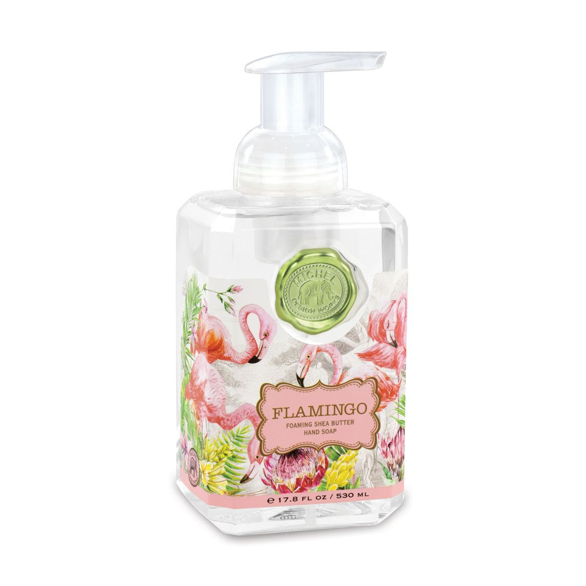 Foaming Hand Soap By Michel Design Works Flamingo