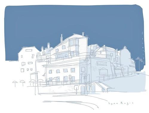 Lyme Regis by Stefan Marjoram