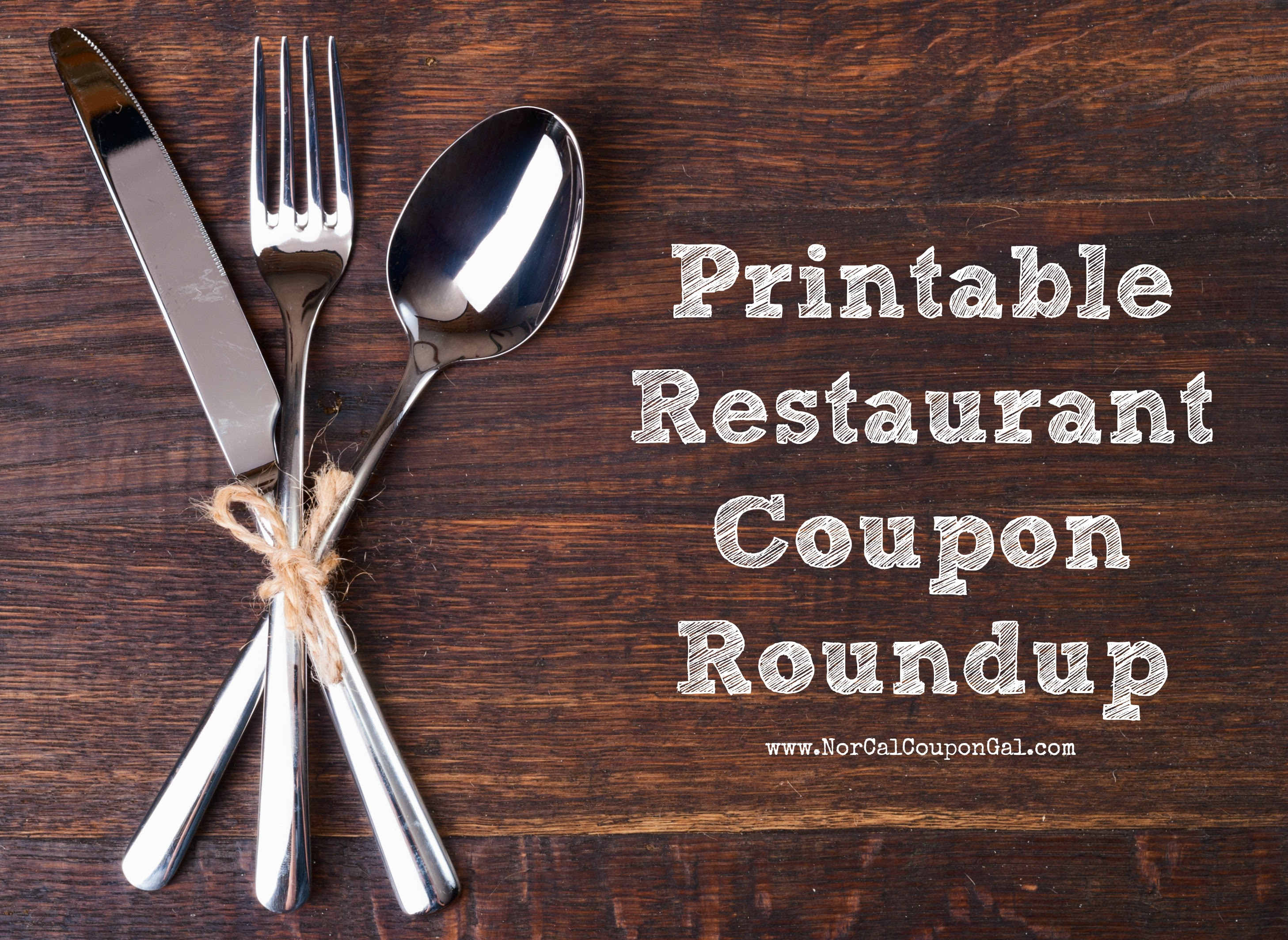 Printable Restaurant Coupons