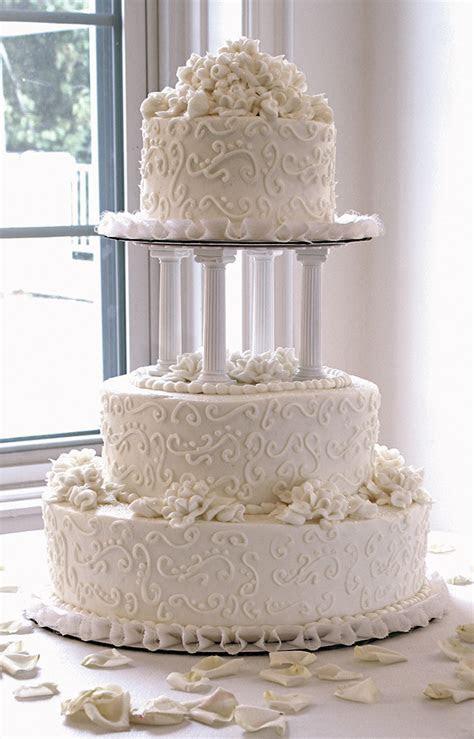 Wedding cakes with columns   idea in 2017   Bella wedding