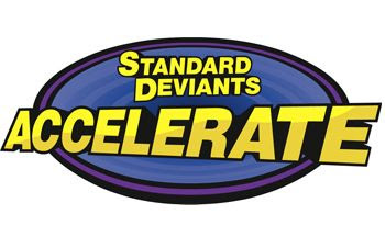 Standard Deviants Accelerate ~ Review by Tess at Circling Through This Life