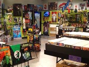 Big Bang Theory Comic Book Store Location
