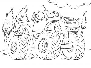 Dibujos De Camiones Para Colorear Paracolorearnet