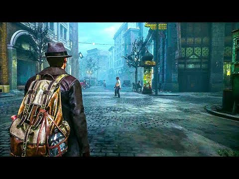 THE SINKING CITY - Gameplay Trailer (New Open World Cthulhu Game) 2018