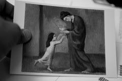 Postcards Picasso - Soup, 1902