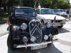 Vehiculos clásicos en Benavente