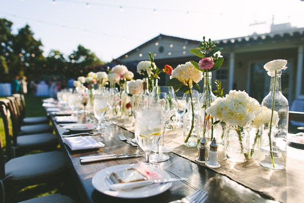 outdoor garden receptions