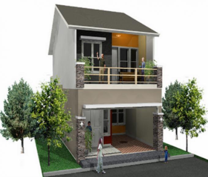 Rumah Minimalis 5x10 2 Lantai   Ide Rumah Minimalis