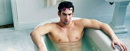 Michael Phelps's Louis Vuitton ad (via Yahoo Sports Blogs)