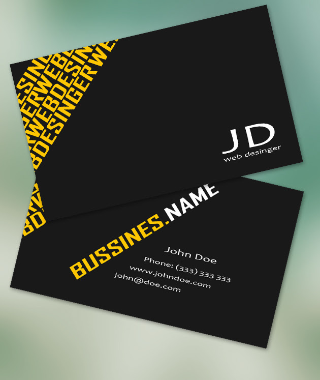 Modern business card example resumes modern business cards by freshbusinesscards on deviantart reheart Choice Image