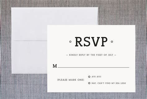 Ways To Word Your RSVP Card   Rustic Wedding Chic