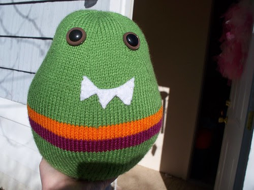 knitted monster body