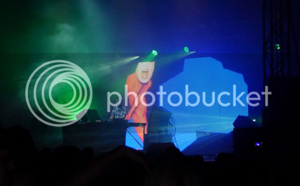 TIGA Lovebox Festival 2012 London