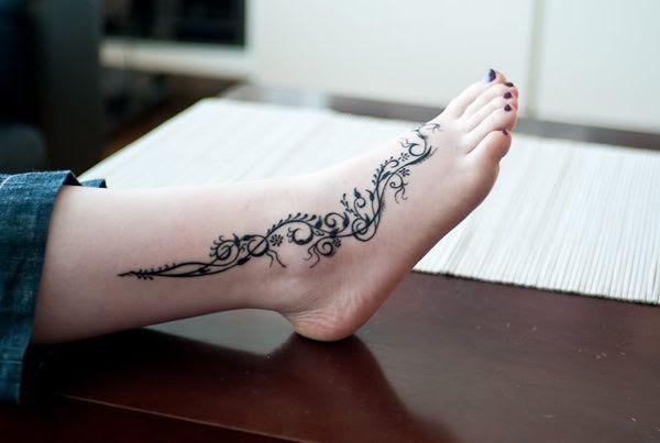 Tatuajes En El Pie Ideal Para El Verano Tatuajes Y Tattoos