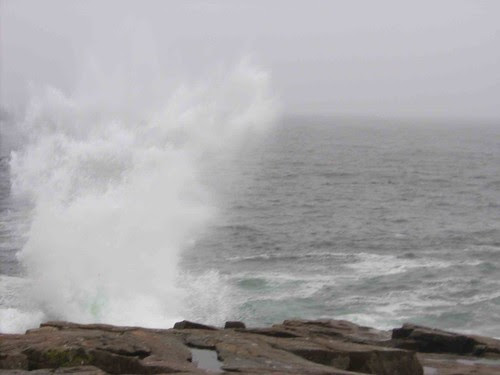 Surf at Schoodic Point