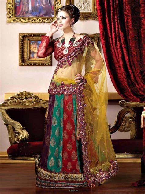 Bridal Lehnga Choli For Wedding 2014 Collection   XciteFun.net