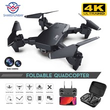 SHAREFUNBAY Drone 4k HD Wide Angle Camera 1080P WiFi fpv