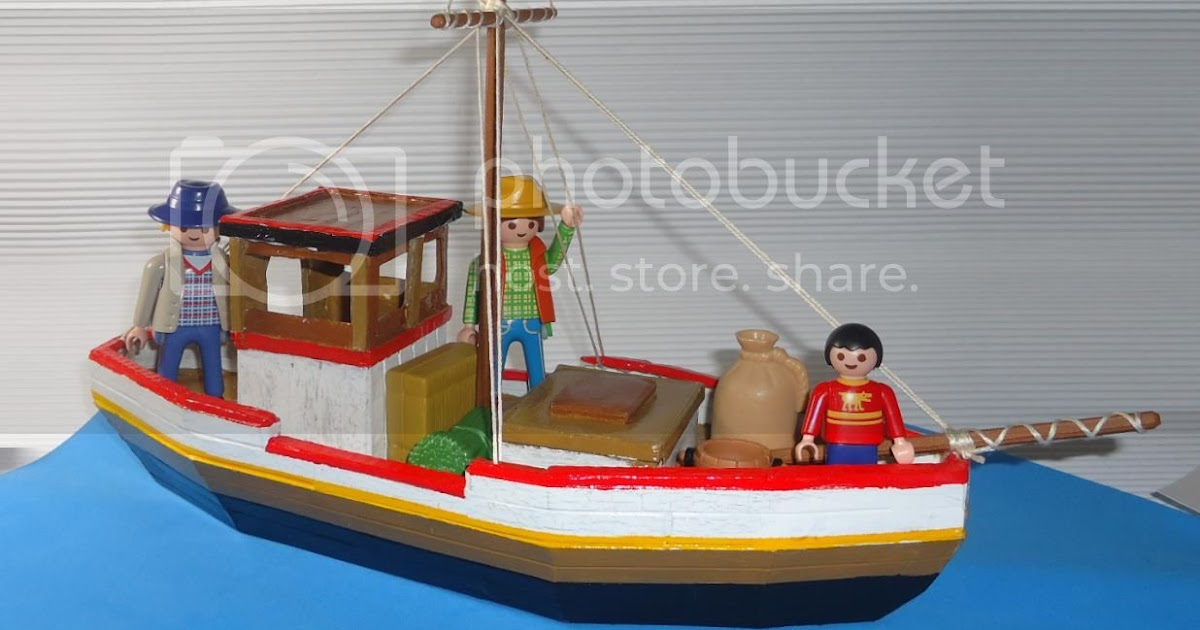 PAPERMAU: The Fishing Boat Papercraft In 1/24 Scale - by ...