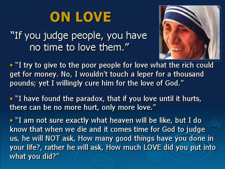 Agape Movement About Mother Theresa