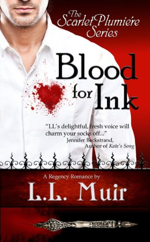 Blood for Ink (The Scarlet Plumiere Series) by L.L. Muir