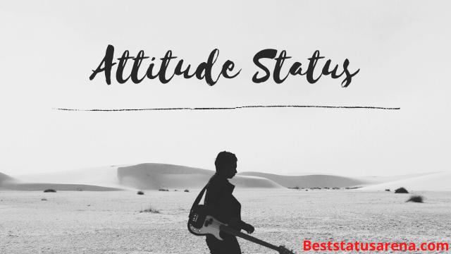 Attitude Shayari in Hindi 2020 (हिंदी में ऐटीट्यूड स्टेटस)