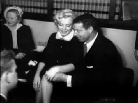 Marilyn Monroe (Wedding To Joe Dimaggio)   YouTube