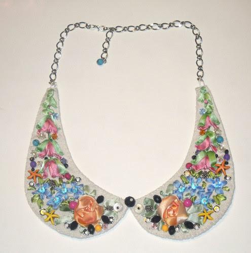 Acquisti handmade: Collana colletto di Lisa Bergamin