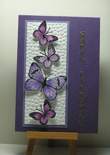 Purple Butterflies by cathroff