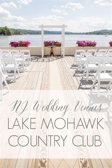 lake mohawk country club   nj ny pa wedding venues