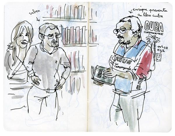 """enrique y su libro """"cuba"""""""
