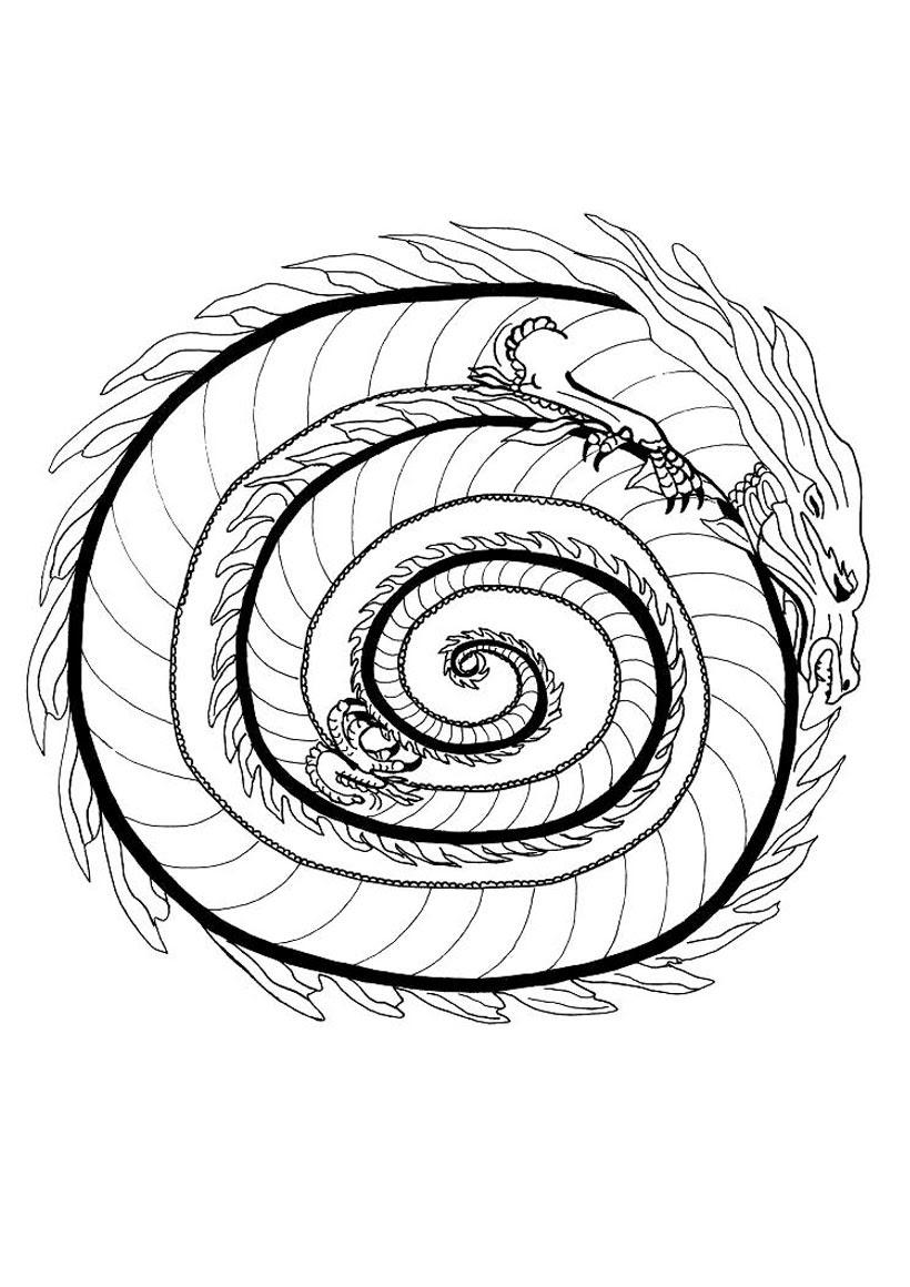 le dragon de feu source whg