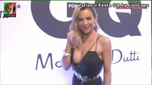 Oceana Basilio sensual na festa GQ