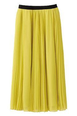 Uniqlo Chiffon Long Skirt