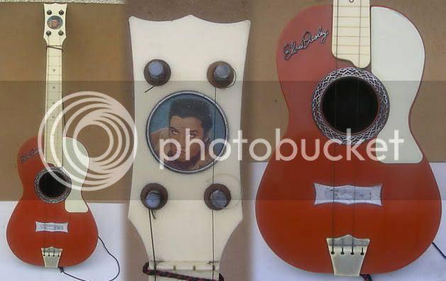 Plastic Elvis Guitar