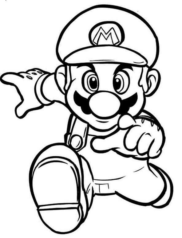 Ausmalbilder kostenlos Mario 2   Ausmalbilder Kostenlos