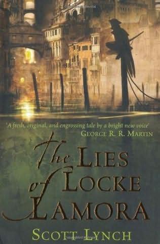 book cover of   The Lies of Locke Lamora