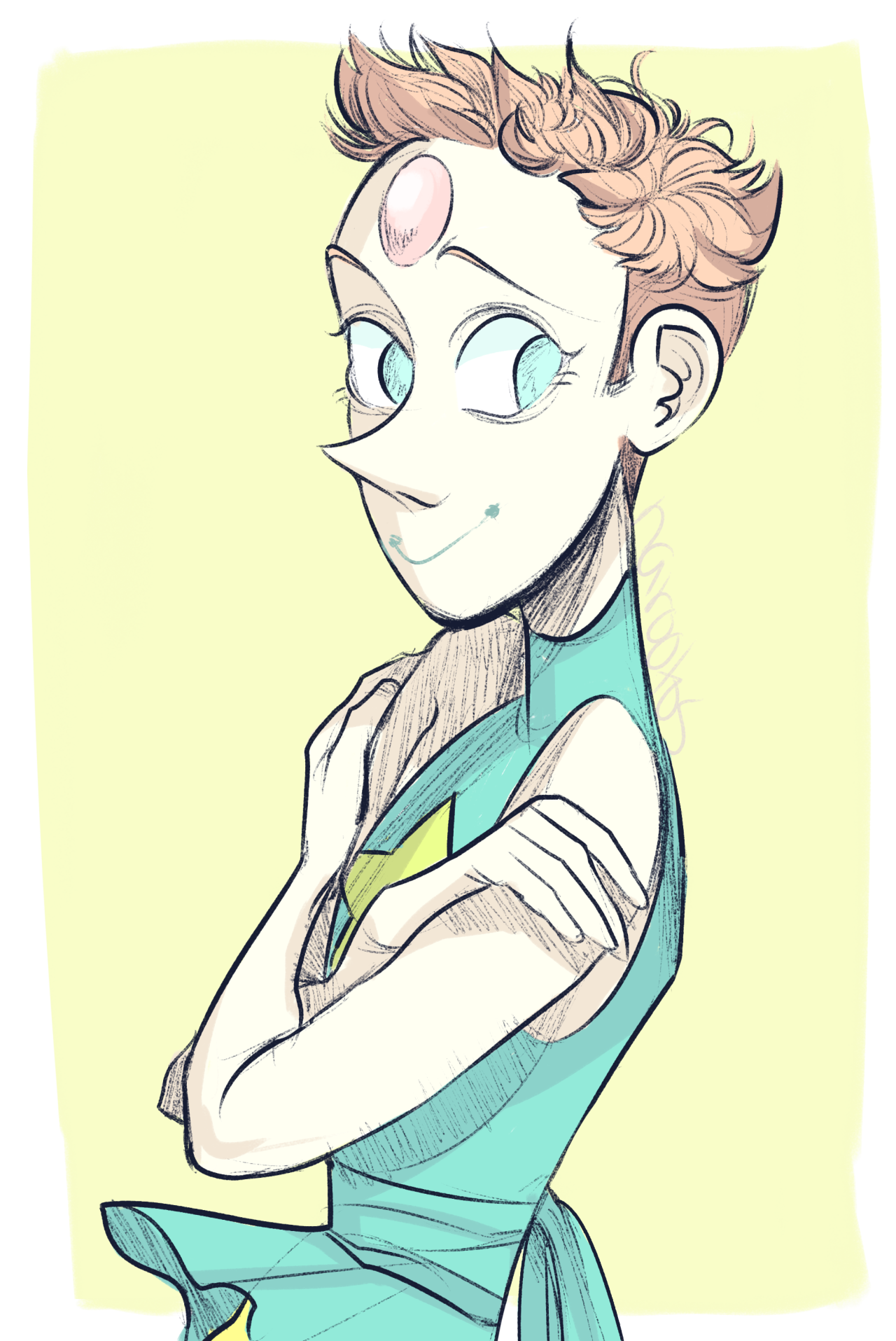 more short haired pearl by request! :)