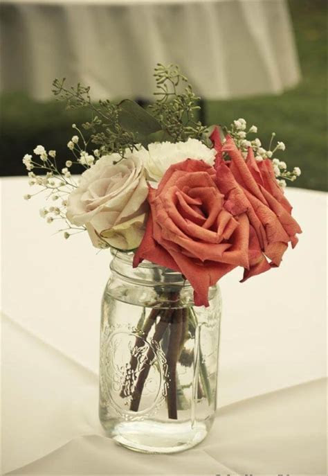 68 Best & Cheap Mason Jar Centerpiece Ideas   DIY to Make