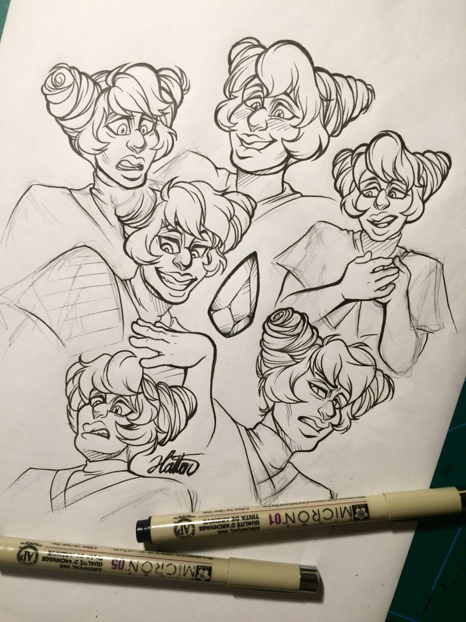 Doodled some Hollies 💙