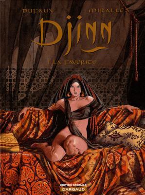 Couverture Djinn, tome 01 : La Favorite