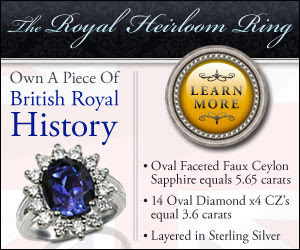 Own a piece of British Royal History!   Click here...