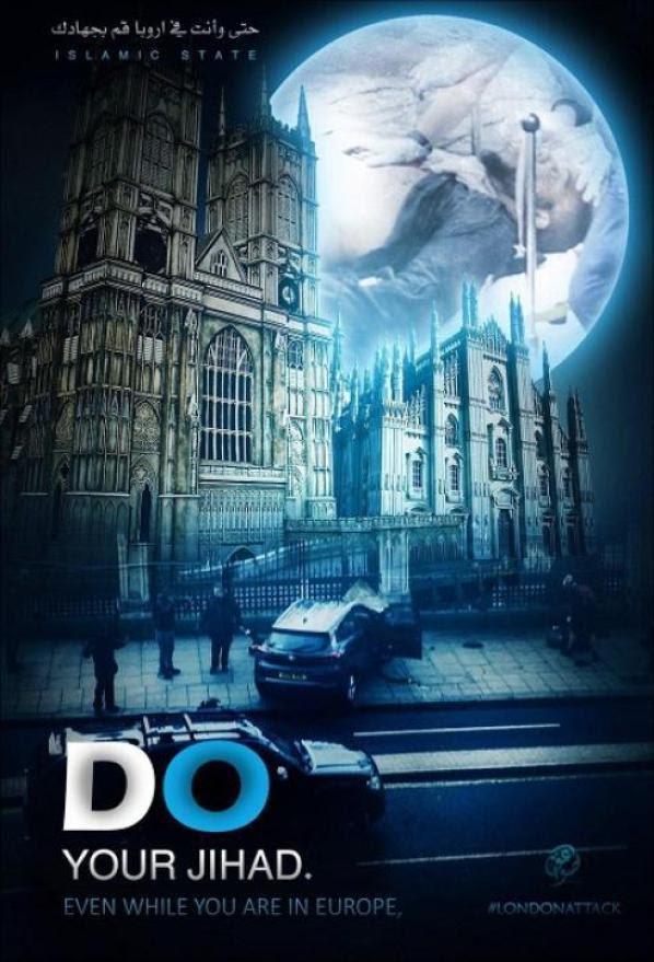 Isis, in Rete la foto con Westminster e il Duomo di Milano