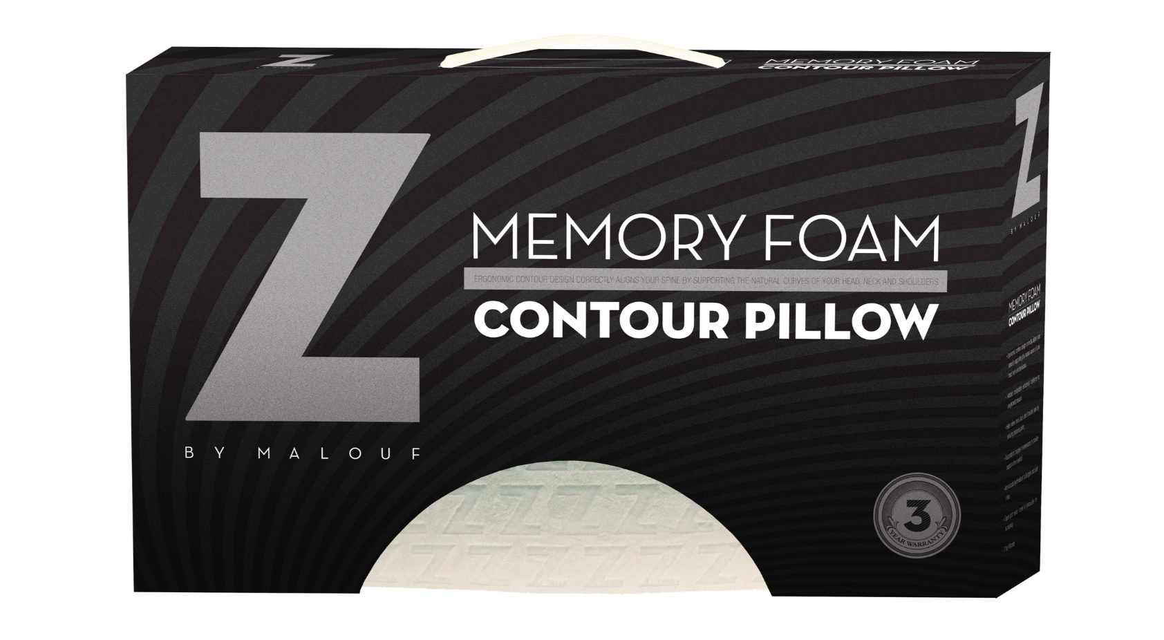 Parklane Mattresses - Malouf Memory Foam Contour Pillow