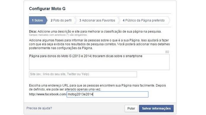Como Criar Uma Página De Fãs No Facebook Dicas E Tutoriais Techtudo