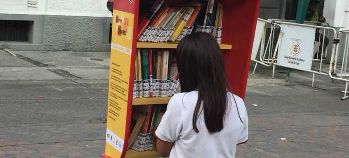 Cali es pionera con Libros Libres que promueven la lectura